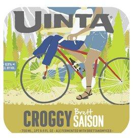 Uinta 'Croggy' Brett Saison 750ml