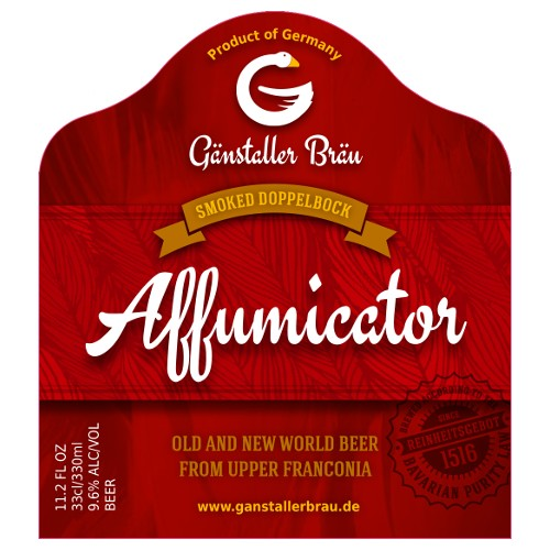 Ganstaller 'Affumicator' Smoked Doppelbock 330ml