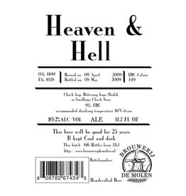 De Molen 'Heaven & Hell' Imperial Stout 330ml