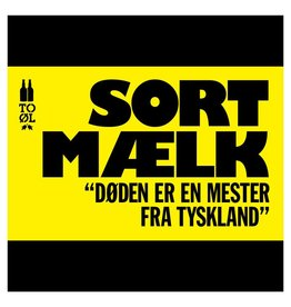 To Øl 'Sort Maelk' Barrel Aged Imperial Milk Stout 330ml