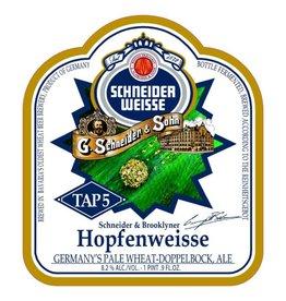Schneider x Brooklyn 'Tap 5 - Hopfenweisse' Pale Wheat' 500ml