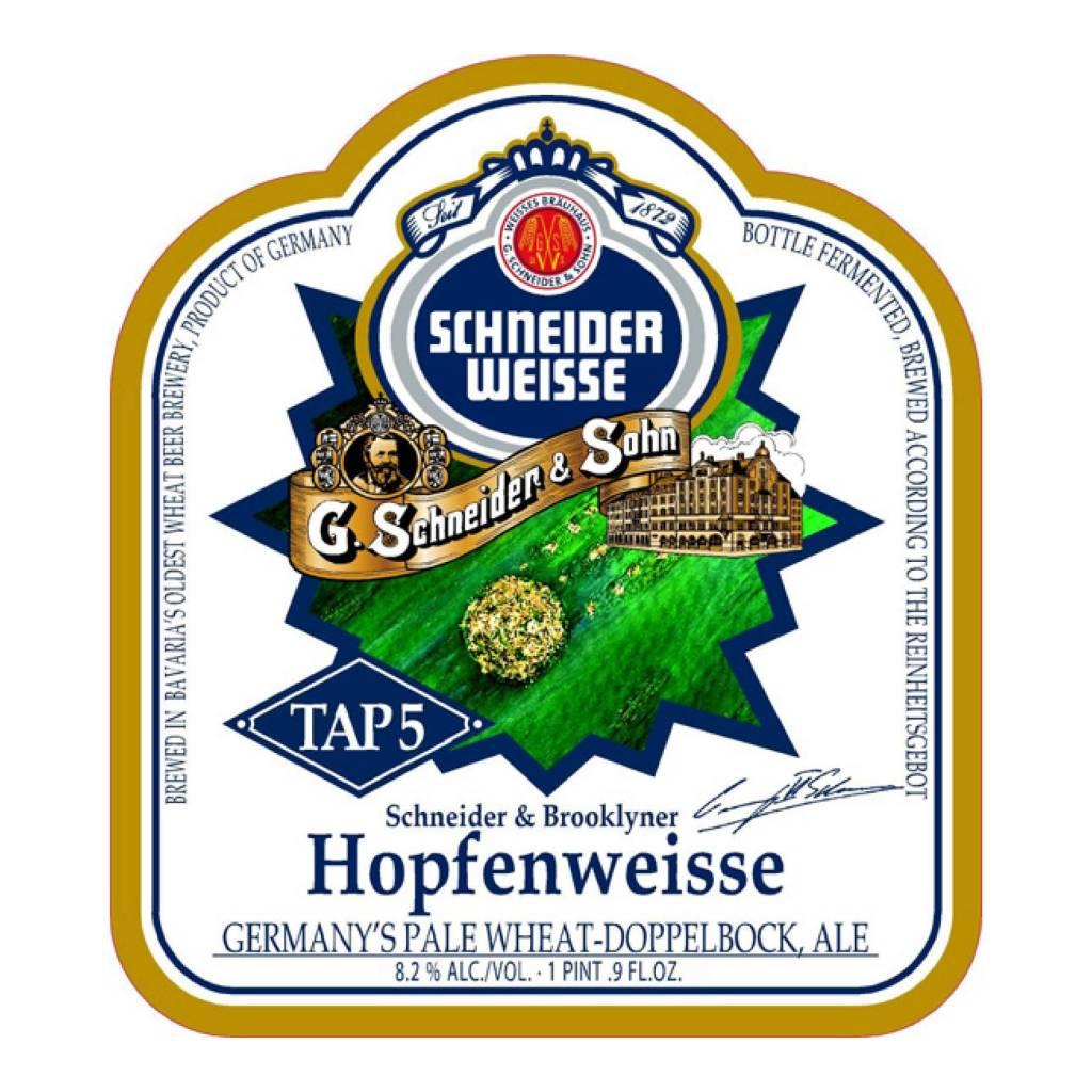 Schneider x Brooklyn 'Tap 5 - Hopfenweisse' Pale Wheat '500ml