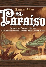 Wicked Weed 'Barrel Aged El Paraiso' Barrel Aged Imperial Coffee Stout 375ml
