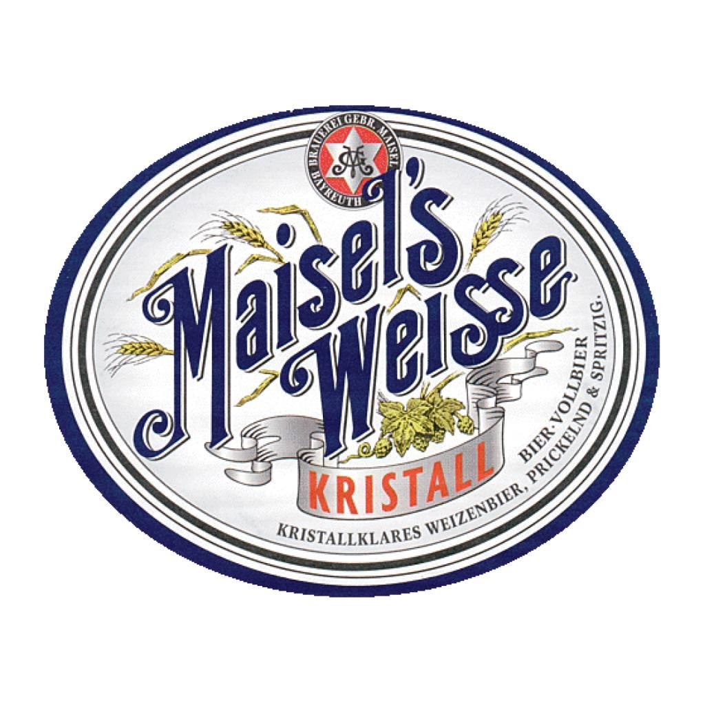Maisel's 'Weisse Kristall' 500ml