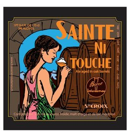 Trois Dames 'Sainte Ni Touche' Sour Barrel-aged Double IPA 750ml