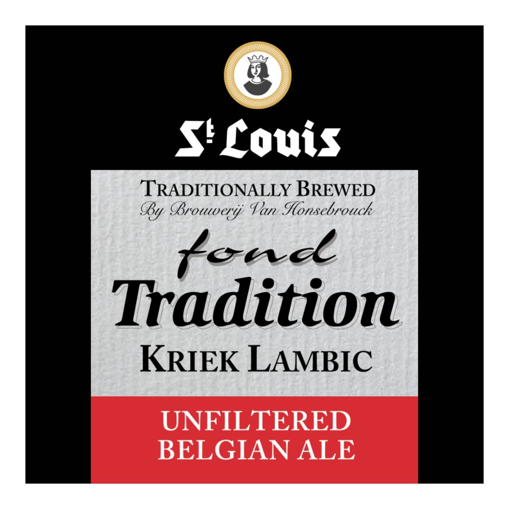 Van Honsebrouck 'St. Louis Fond Tradition Kriek' 375ml