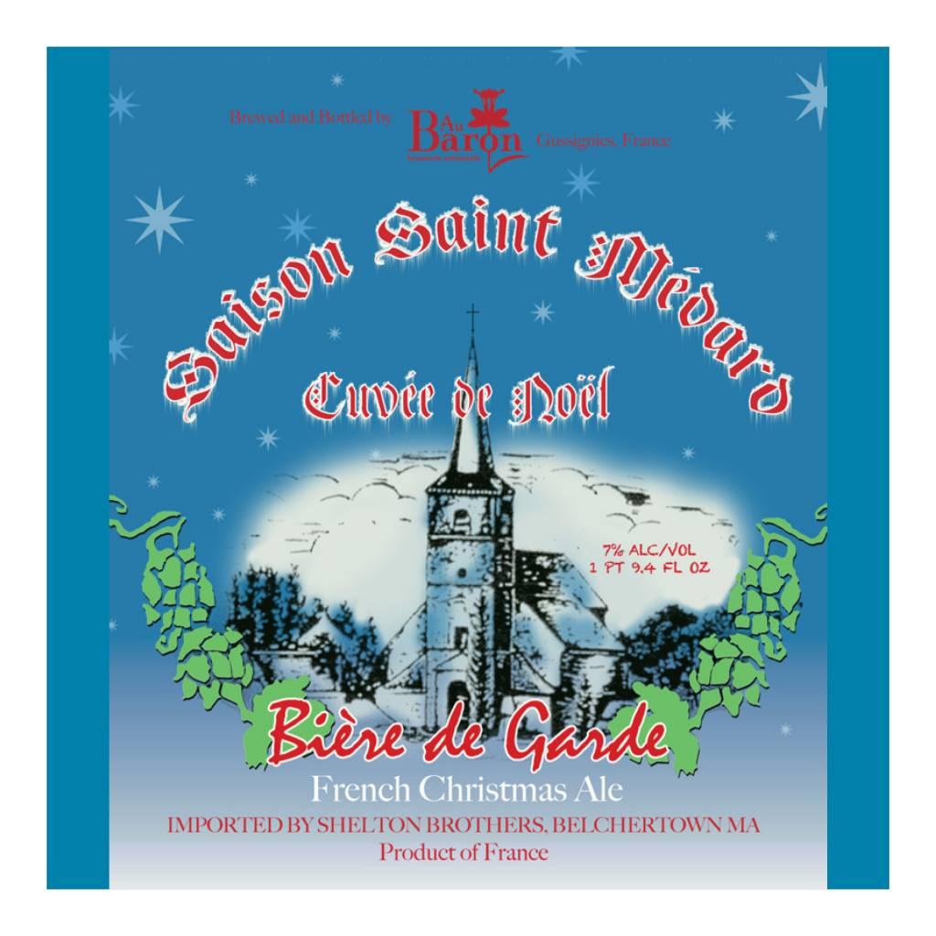 Au Baron 'Saison St. Medard Cuvee de Noel' 750ml