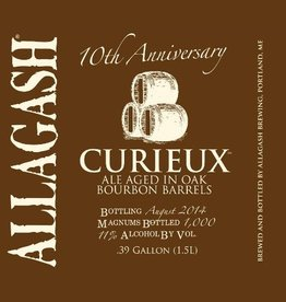 Allagash Brewing Co. 'Curieux' Tripel aged in Bourbon Barrels 750ml