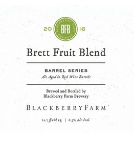 Blackberry Farm Brewery 'Brett Fruit Blend - Barrel Series' 375ml
