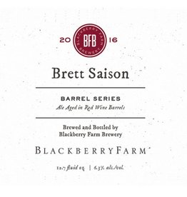 Blackberry Farm Brewery 'Brett Saison - Barrel Series' 375ml