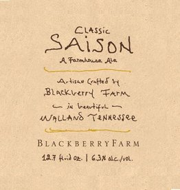 Blackberry Farm Brewery 'Classic Saison' 750ml