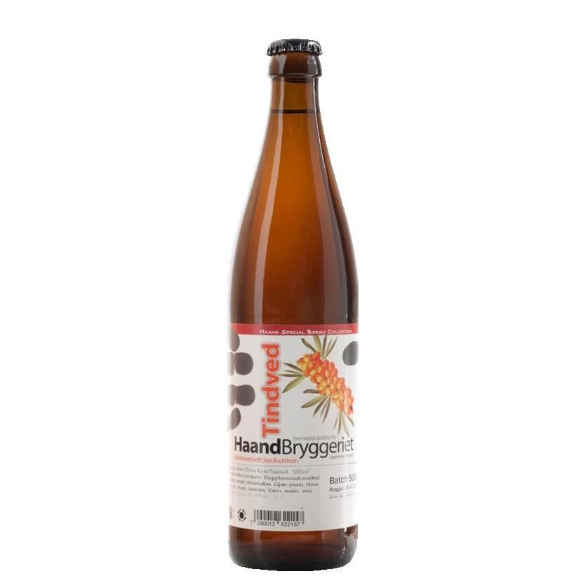 HaandBryggeriet 'Tindved' Seabuckthorn Sour Ale 500ml