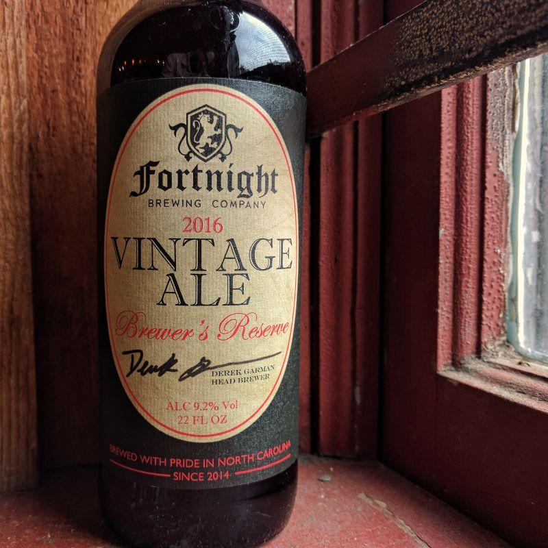 Fortnight 'Vintage Ale - 2016' 22oz