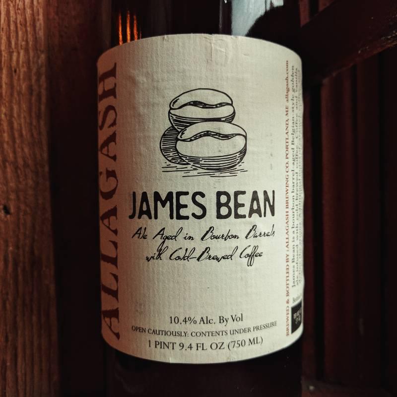 Allagash Brewing Co. 'James Bean' Bourbon Barrel-aged Ale w/ Coffee 750ml