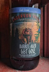 Anderson Valley Brewing Co. 'Barrel-aged G&T' Gose 22oz