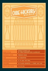 Olde Hickory 'Wheat Wine' with Brettanomyces & Apricot 22oz