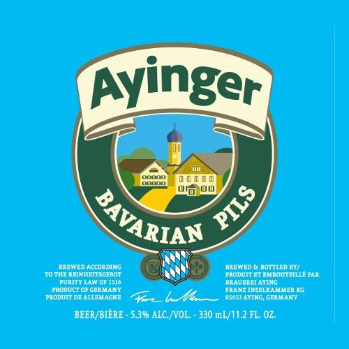 Franziskaner Ayinger Bavarian Pils' 330ml