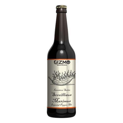 Gizmo BrewWorks 'Scovilliaus Maximus' Imperial Pepper Ale w/ Agave Nectar 22oz