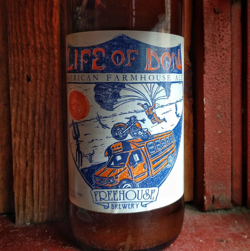 Freehouse 'Life of Don' Wild Farmhouse Ale 500ml