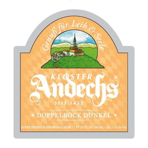 Kloster Andechs Andechs 'Dopplebock Dunkel' 500ml