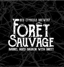Red Cypress 'Foret Sauvage' Barrel Aged Saison w/ Brett 500ml