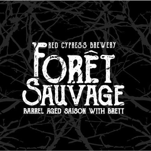 Red Cypress 'Foret Sauvage' Barrel Aged Saison w/ Brett 500ml