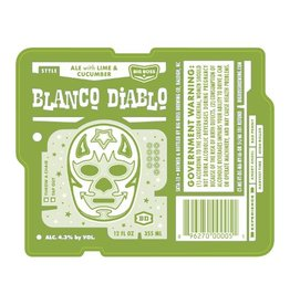 Big Boss 'Blanco Diablo' Cucumber Lime Ale 12oz Sgl