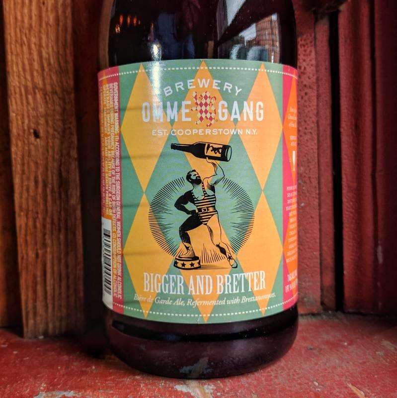 Ommegang 'Bigger and Bretter' Biere de Garde 750ml