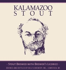 Bell's Brewery 'Kalamazoo' Stout w/ Licorice 12oz Sgl