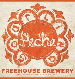 Freehouse 'Sourlina Peche' Organic Peach Sour Ale 750ml