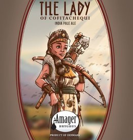 Amager x Fonta Flora 'The Lady of Cofitachequi' IPA 500ml