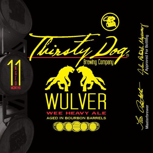 Thirsty Dog 'Wulver' Wee Heavy Aged in Bourbon Barrels 12oz Sgl