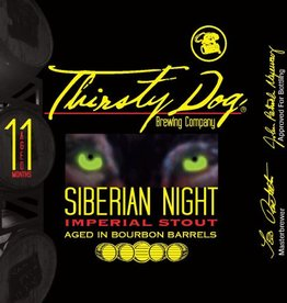 Thirsty Dog 'Siberian Night' Bourbon Barrel Aged Imperial Stout 12oz Sgl