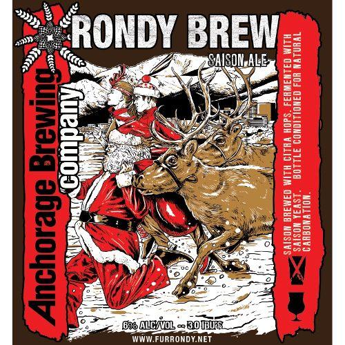 Anchorage Brewing Co. 'Rondy Brew' Saison w/ Brett 750ml