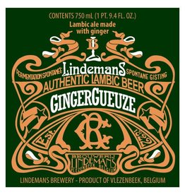 Lindemans 'GingerGueuze' Lambic Ale with Ginger 750ml
