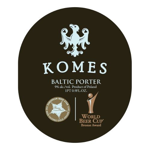 Fortuna 'Komes' Baltic Porter 500ml