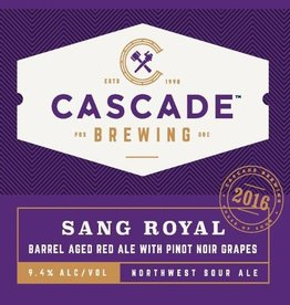 Cascade 'Sang Royal - 2016 Project' Sour Ale 750ml