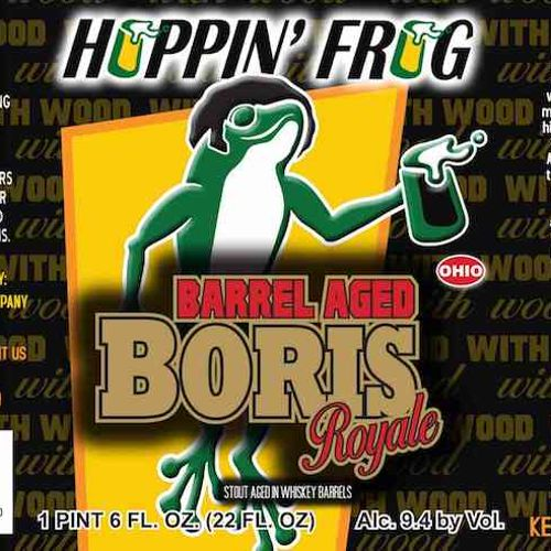 Hoppin' Frog 'Barrel Aged BORIS Royale' 12oz Sgl