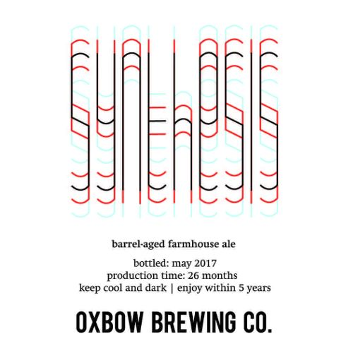 Oxbow 'Synthesis' Barrel-aged Farmhouse Ale 500ml