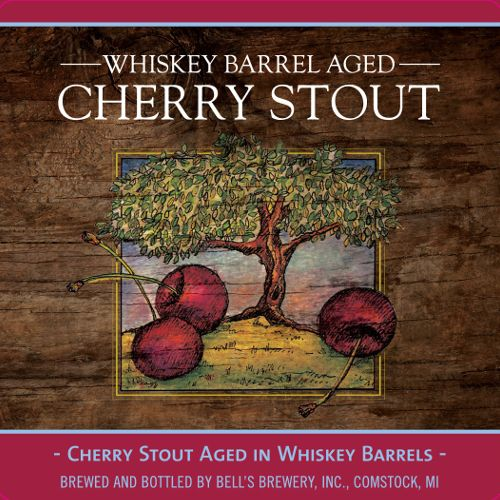 Bell's Brewery 'Whiskey Barrel Aged Cherry Stout' 12oz Sgl