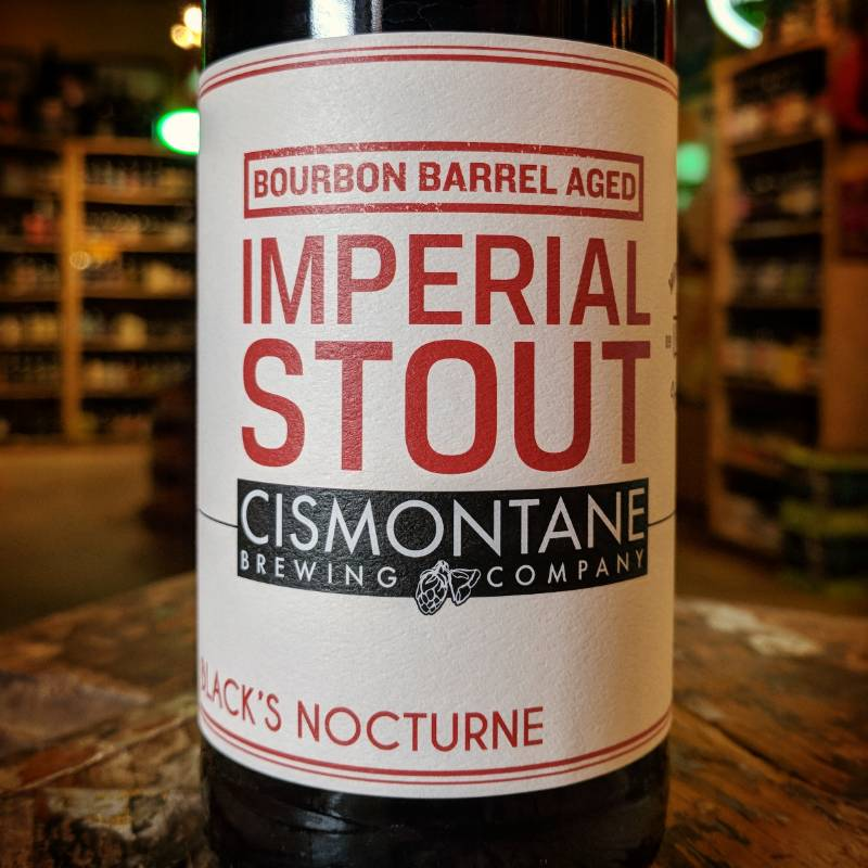 Cismontane 'Blacks Nocturne Batch #3' Bourbon Barrel Aged  Imperial Stout 500ml