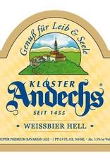 Kloster Andechs 'Weissbier Hell' 500ml