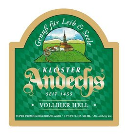 Kloster Andechs 'Vollbier Hell' 500ml