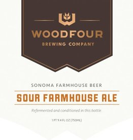 Woodfour 'Sour Farmhouse Ale' 375ml