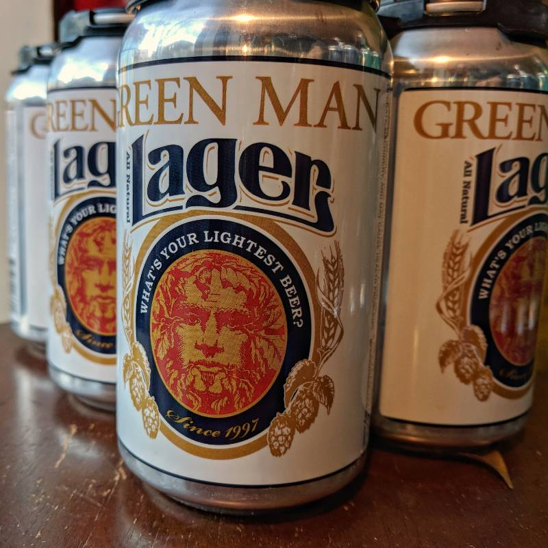 Green Man Brewery Green Man 'Lager' 12oz (Can)