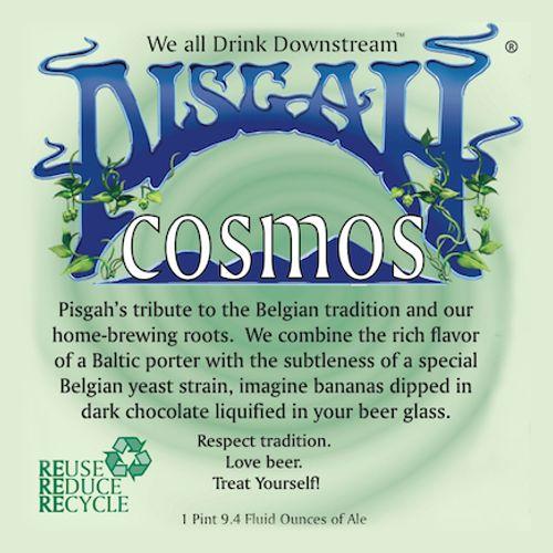 Pisgah Brewing Co. 'Cosmos' Belgian-Inspired Baltic Porter 750ml