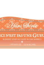 Trois Mousquetaires 'Ceci Nest Pas Une Gueuze' Blended Sour Ale Aged in Oak Barrels 750ml