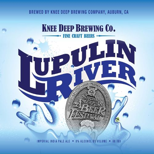 Knee Deep 'Lupulin River' Imperial IPA 12oz (Can)
