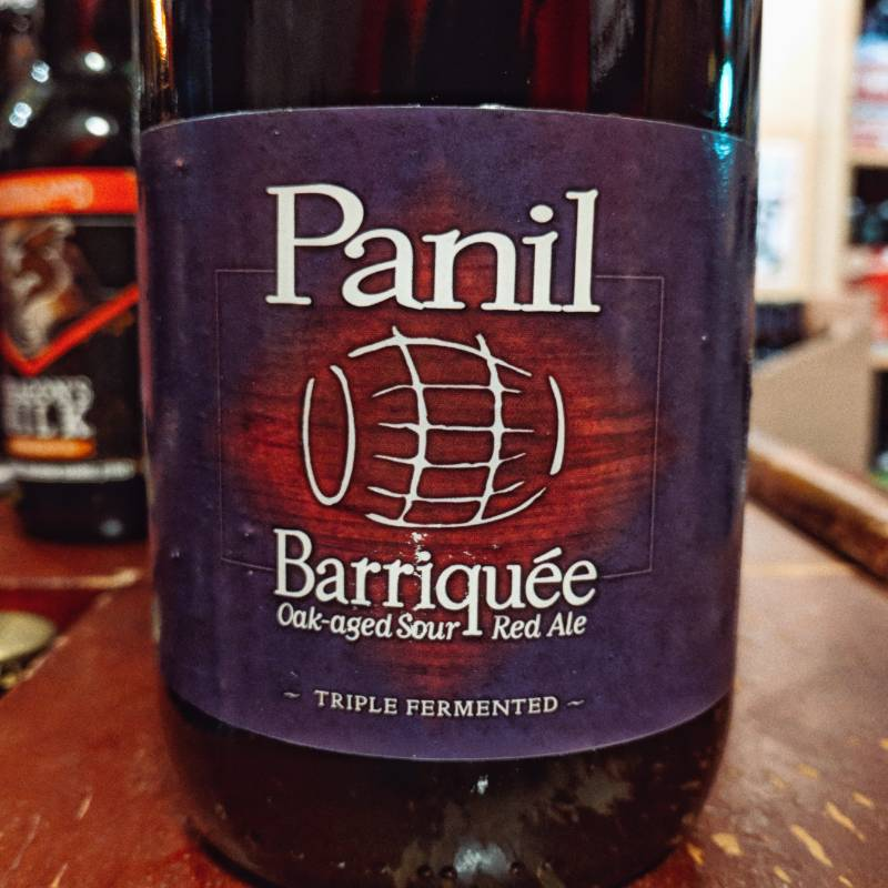 Panil 'Barriquee' Oak-aged Sour Red Ale 750ml