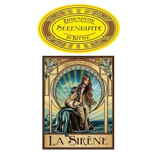 La Sirene 'Serendipite' Oak Aged Wild Farmhouse Ale 375ml